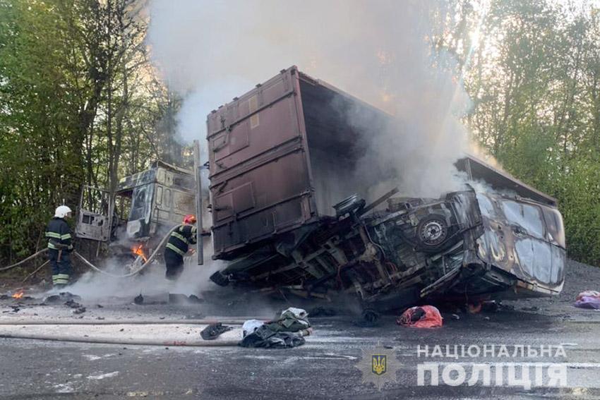 Жахлива ДТП на Хмельниччині / фото npu.gov.ua