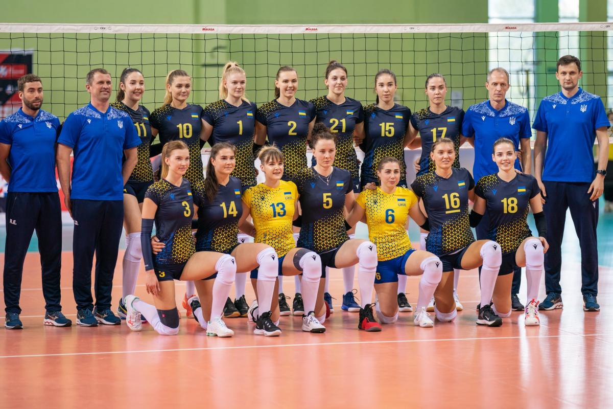 Женская сборная Украины по волейболу / фото facebook.com/fvu.in.ua