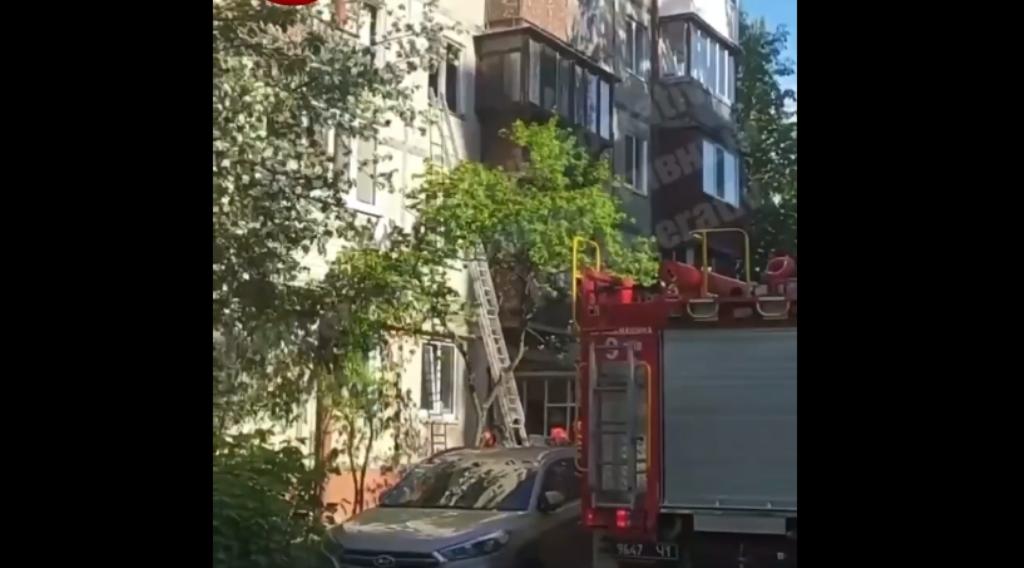 В Киеве в квартире прогремел взрыв / скриншот