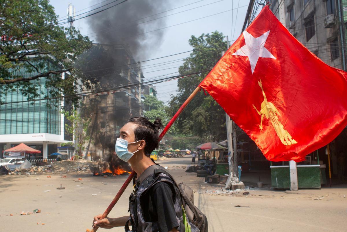В Мьянме ситуация близка к гражданской войне/ REUTERS
