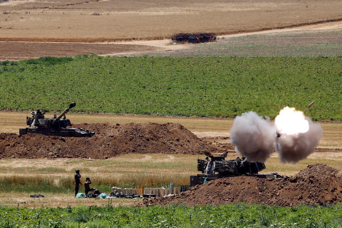 Ракетні удари між Ізраїлем та сектором Гази тривають з 10 травня / фото REUTERS