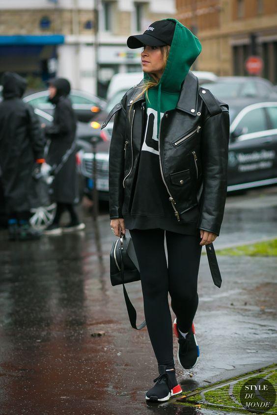 Як одягнутися в дощову погоду / фото pinterest.com