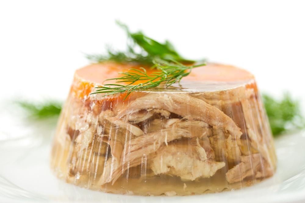 Холодець з курячого м'яса / фото ua.depositphotos.com