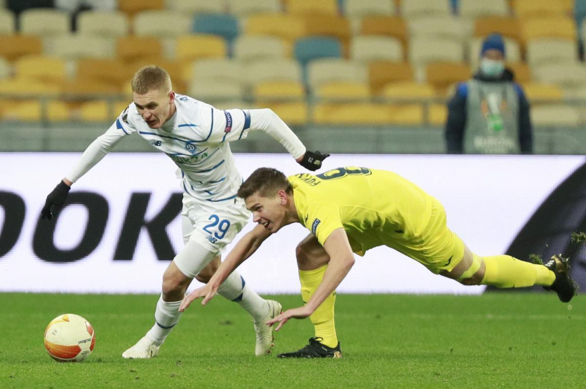 Динамо уступило Вильярреалу в 1/8 Лиги Европы / фото REUTERS