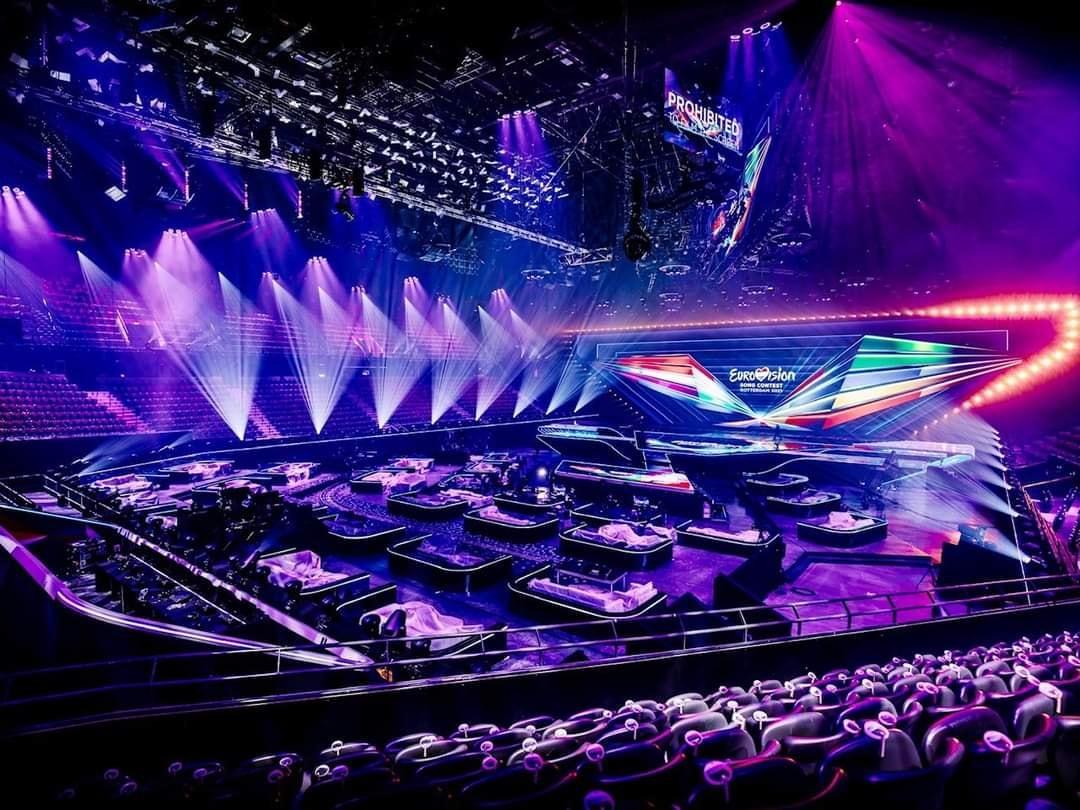 Перший півфінал Євробачення 2021 / фото facebook.com/eurovision.evrobachennya