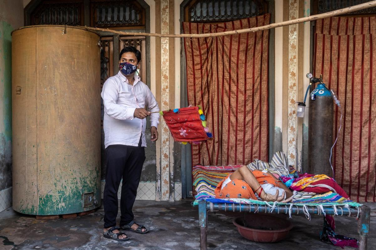 Индия сообщила о 22 случаях заболевания, вызванных delta + \ фото REUTERS
