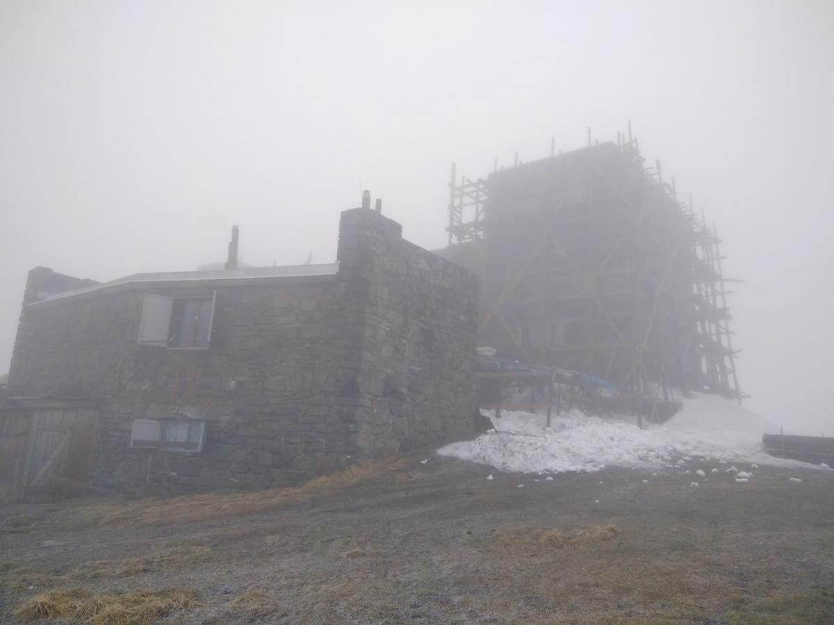 В горах снова снежит / Фото facebook.com/chornogora.rescue112