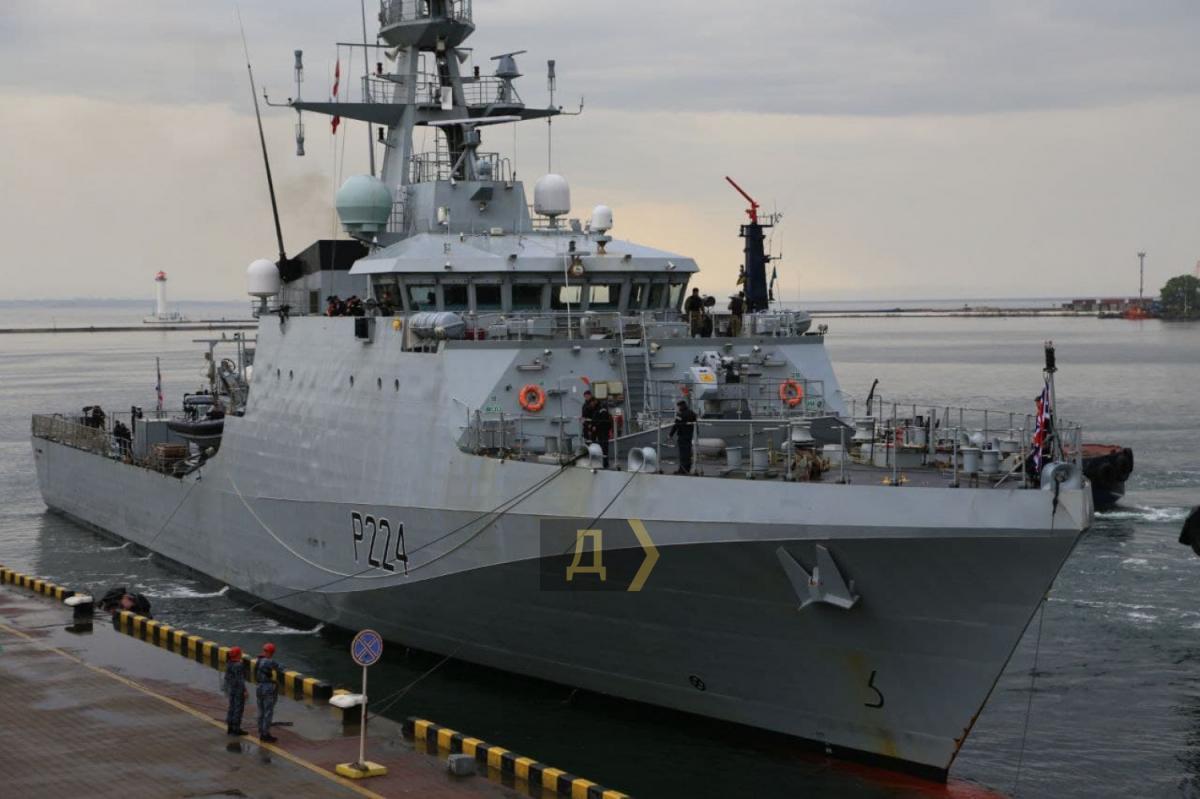 Корабль пробудет в Одессе до4июня \ фото Думская