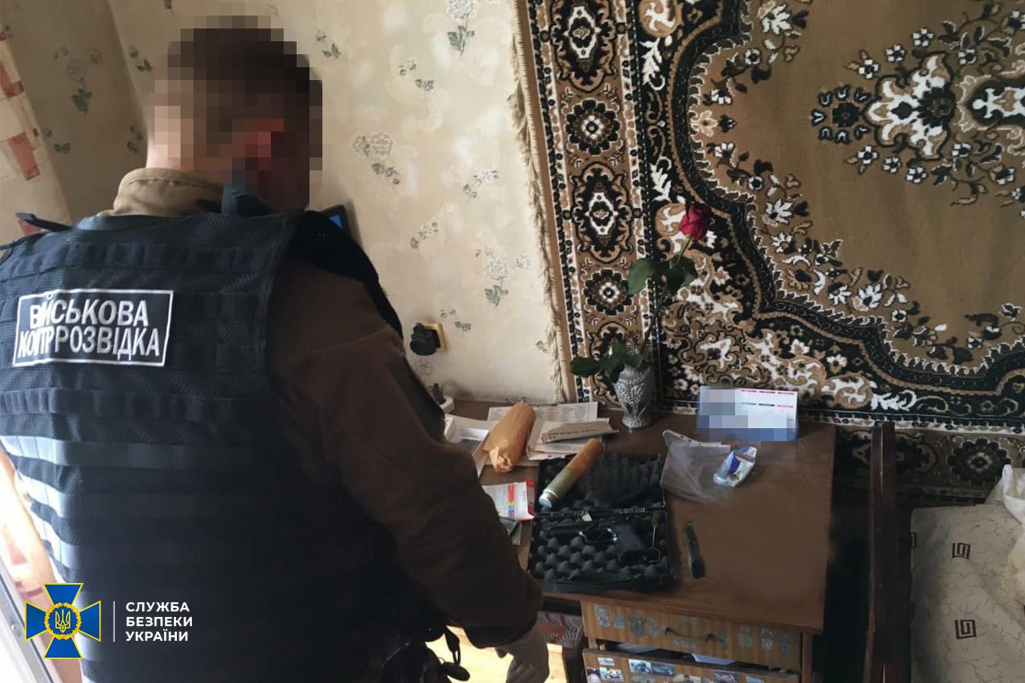 Мужчина нес службу в одной из частей в Донецкой области / ssu.gov.ua