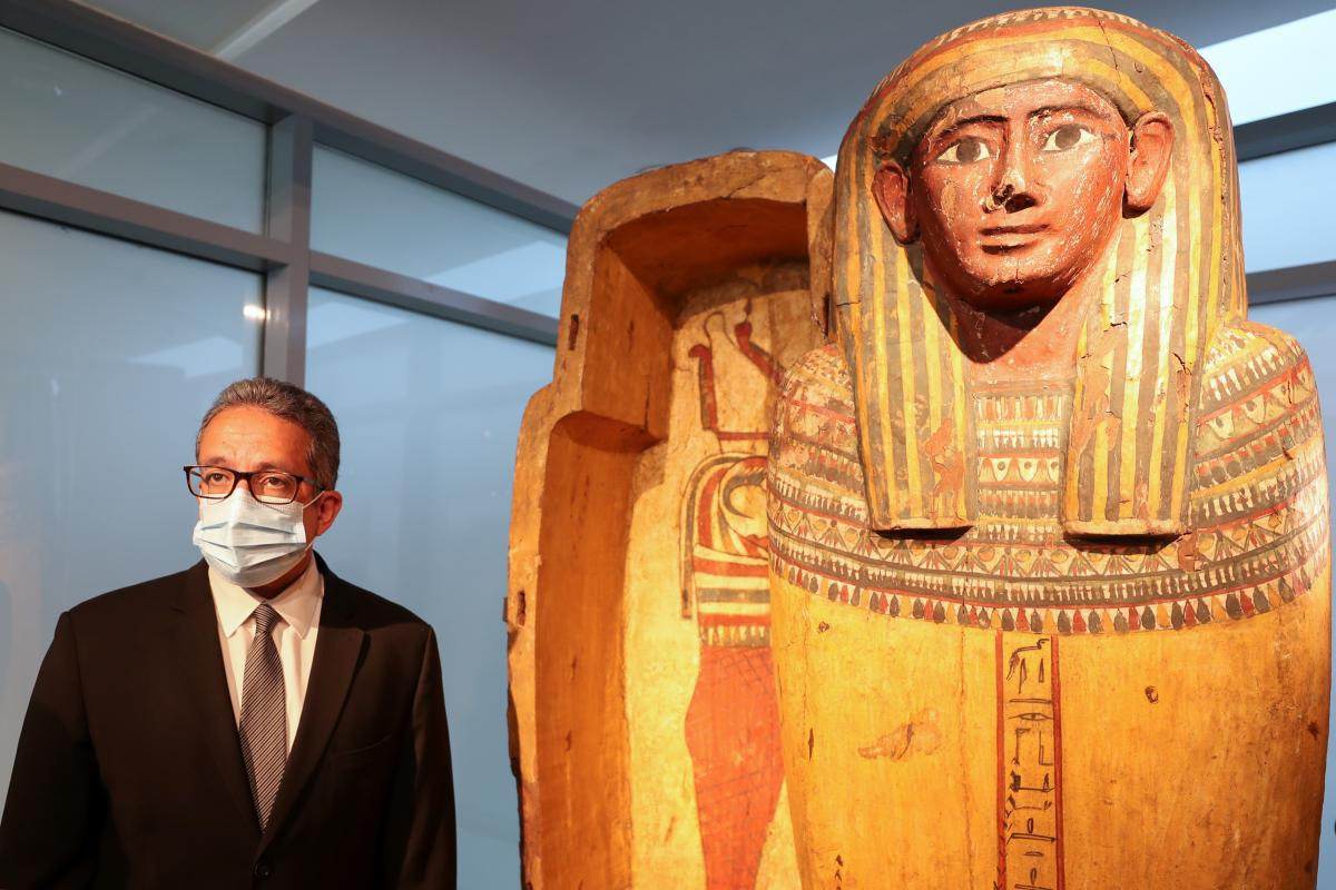 У музеї аеропорту Каїра виставлено близько 70 експанатів / фото REUTERS