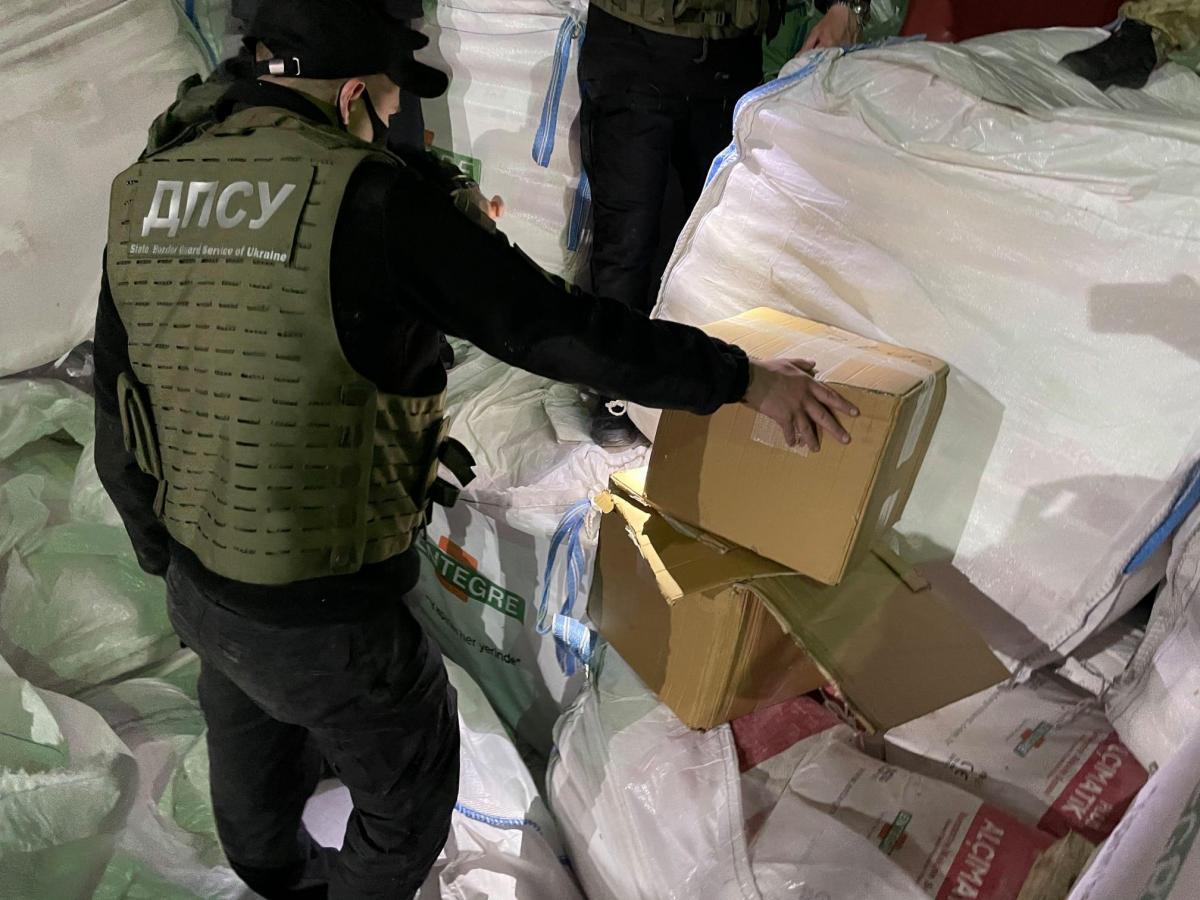 Незаконный груз обнаружили 17 мая \ dpsu.gov.ua