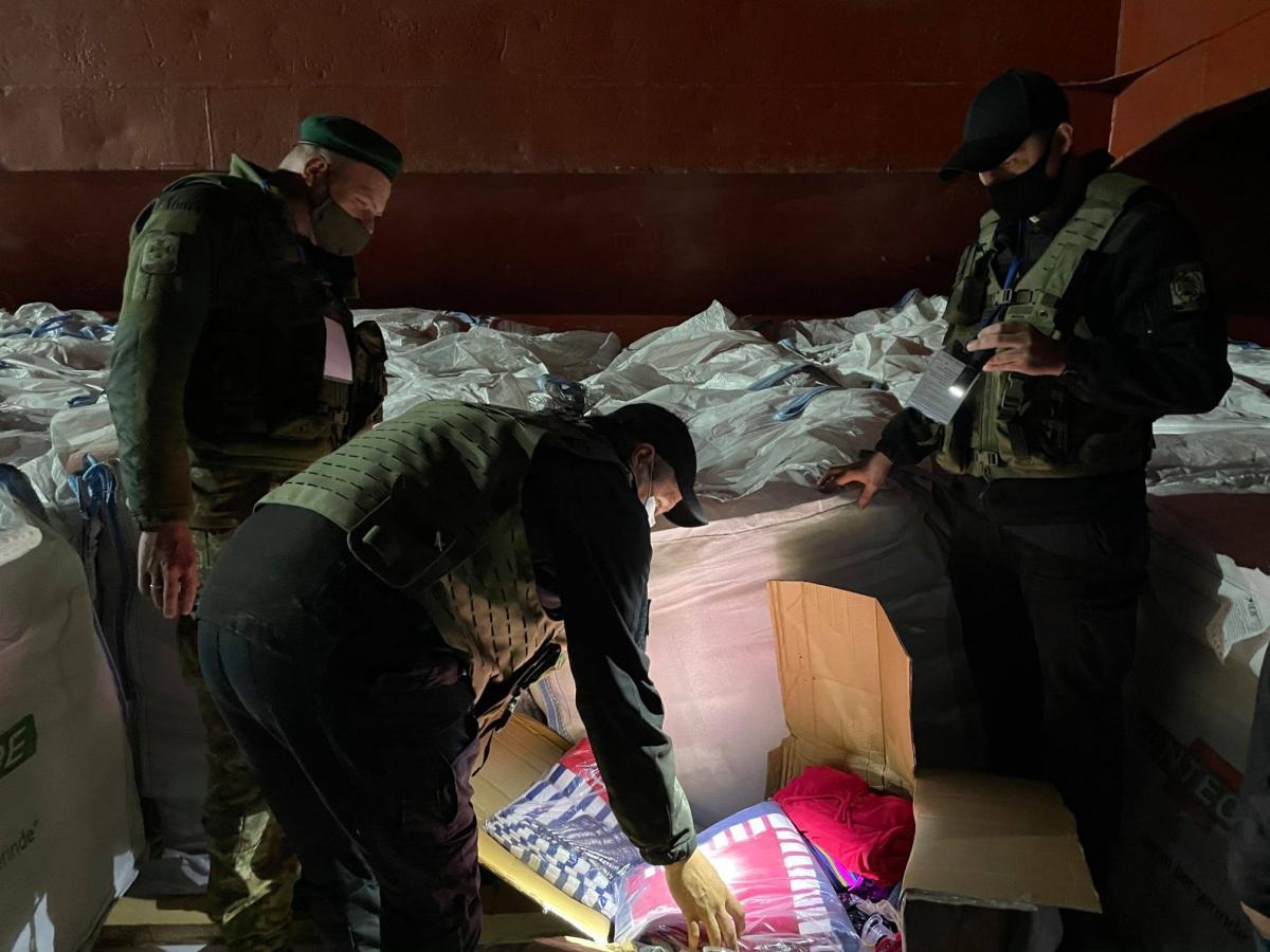 Контрабандный груз прибыл в Украину иностранным судном через Николаевский порт \ dpsu.gov.ua
