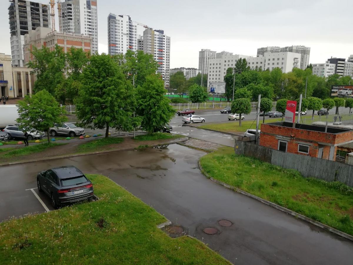 Киев накрыл ливень / Фото Алена Пашина