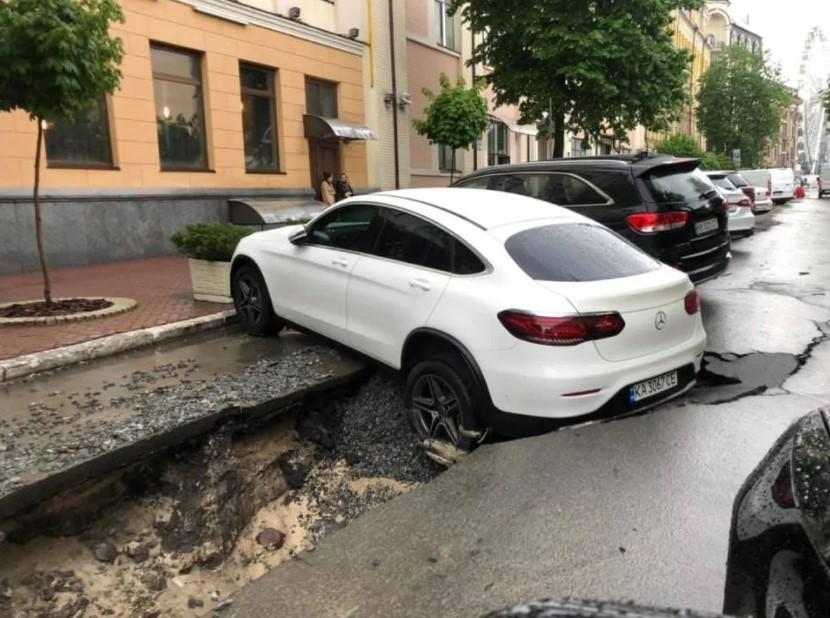 Як відреагував власник авто - невідомо / фото Ярослава Філіпова / Facebook
