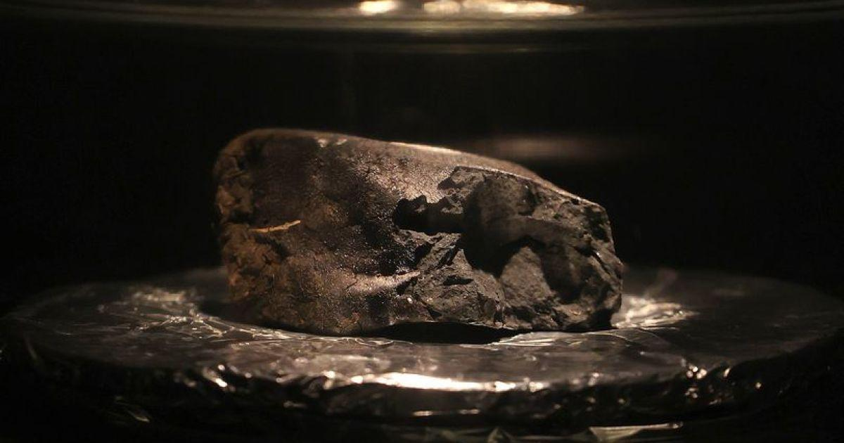 У музеї покажуть уламок метеорита вагою 100 грам \ Фото: Natural History Museum