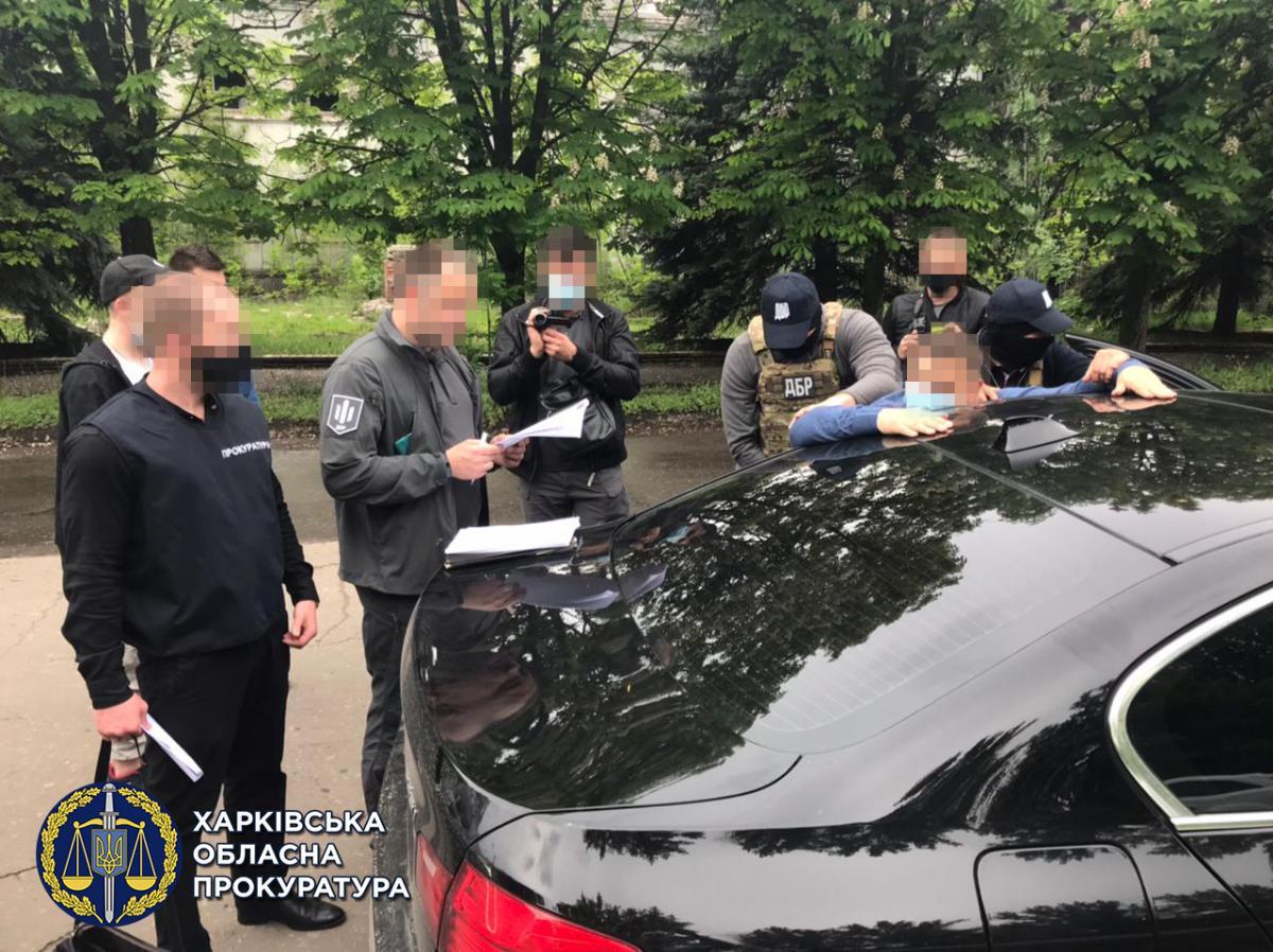 Правоохранители задержали судью в г. Славянск Донецкой области / фото gp.gov.ua