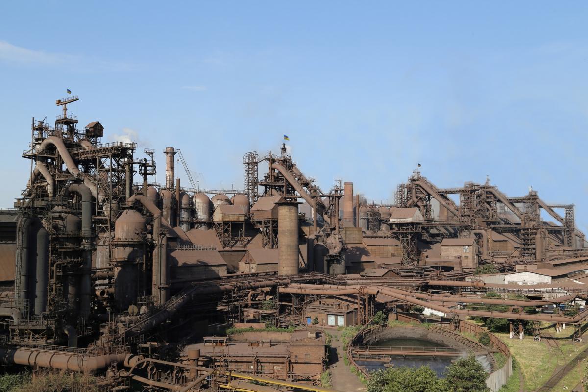Маріупольський металургійний комбінат імені Ілліча / фото «Метінвест»
