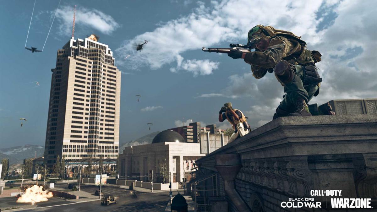 Накатомі Плаза в Верданске / фото Activision