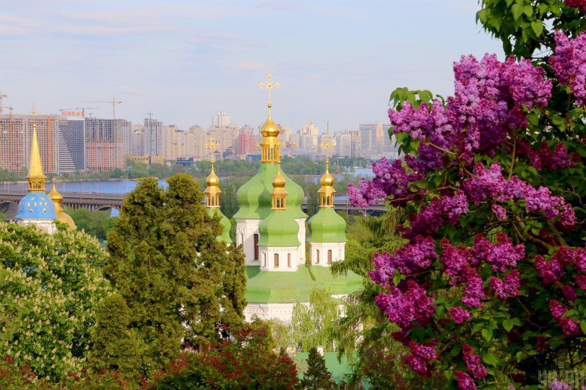 Зеленский поздравил Киев с днем города / фото УНИАН (Денис Прядко)