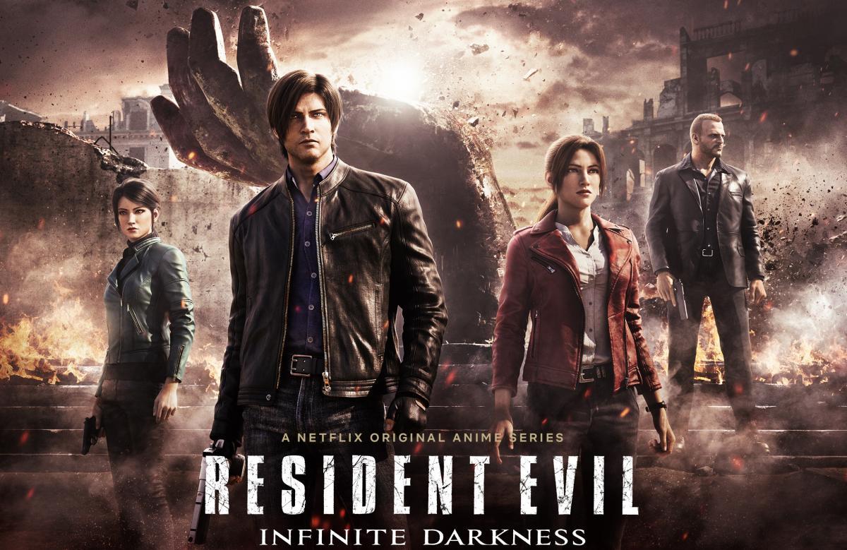Анимационный сериал по мотивам Resident Evil вышел на Netflix 8 июля /фото Netflix