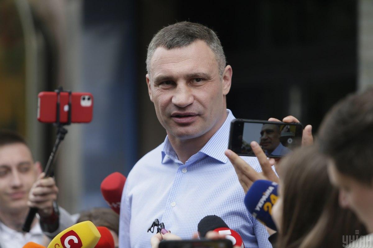 Кличко отметил, что атака на столичную власть может навредить стране \ Фото УНИАН