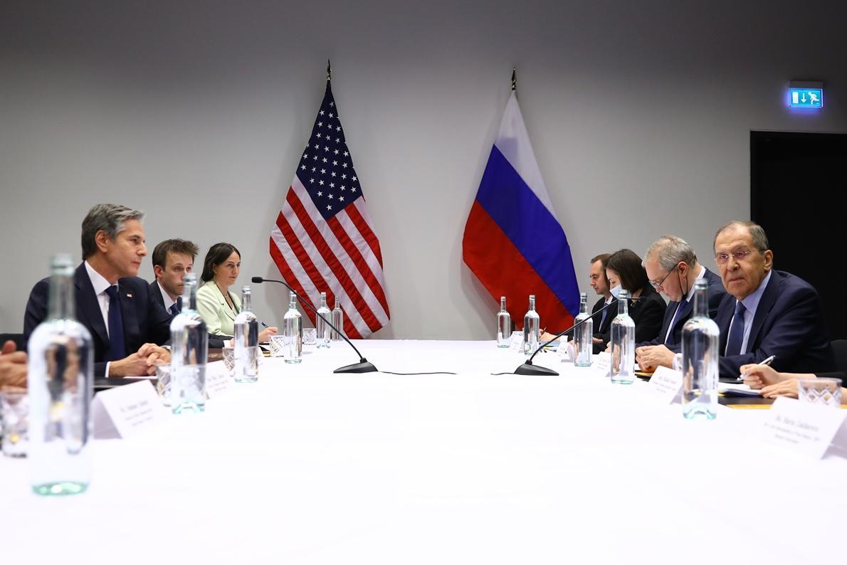 Встреча Блинкена с Лавровым оказалась не такой напряженной, как можно было ожидать / фото МИД РФ