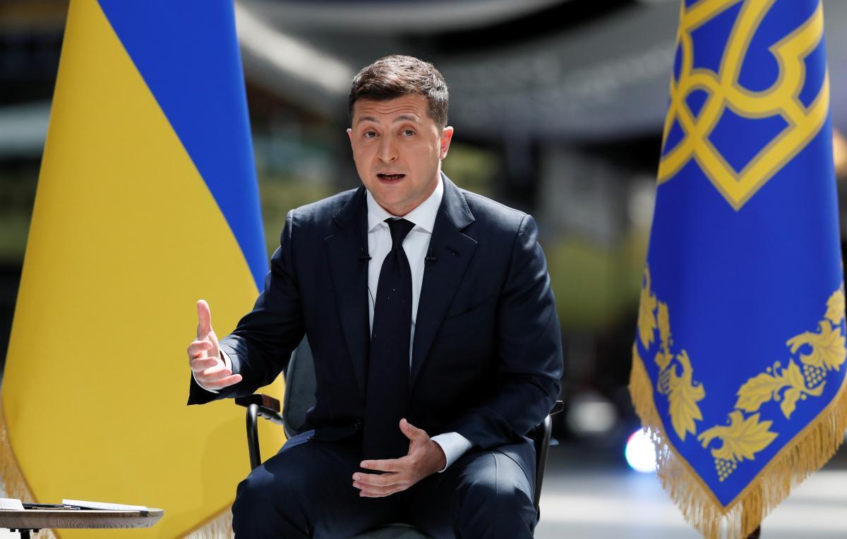 Владимир Зеленский сообщил, какие темы будет поднимать во время встречи с Байденом / REUTERS