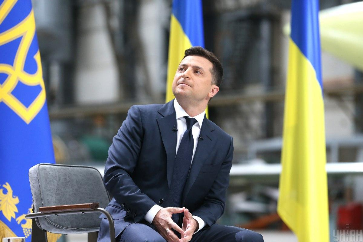 Volodymyr Zelensky / Photo from UNIAN, by Viacheslav Ratynsky
