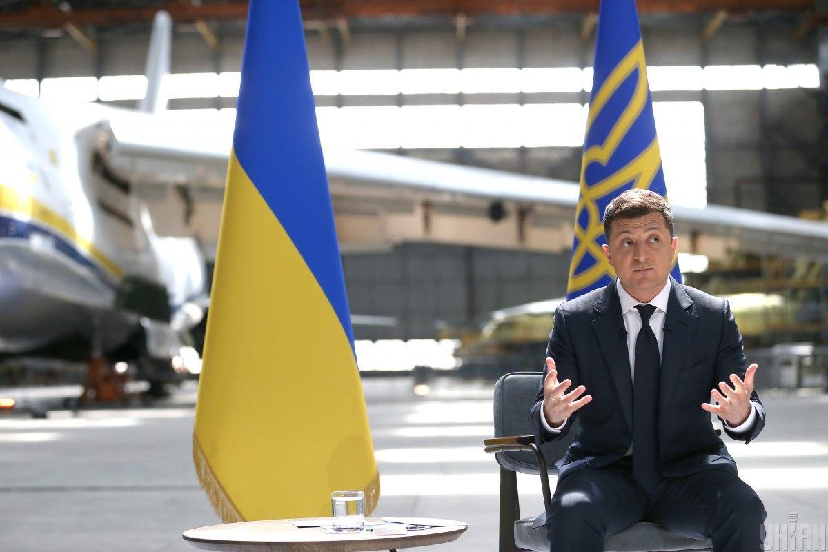 Зеленский провел большую пресс-конференцию / Фото УНИАН