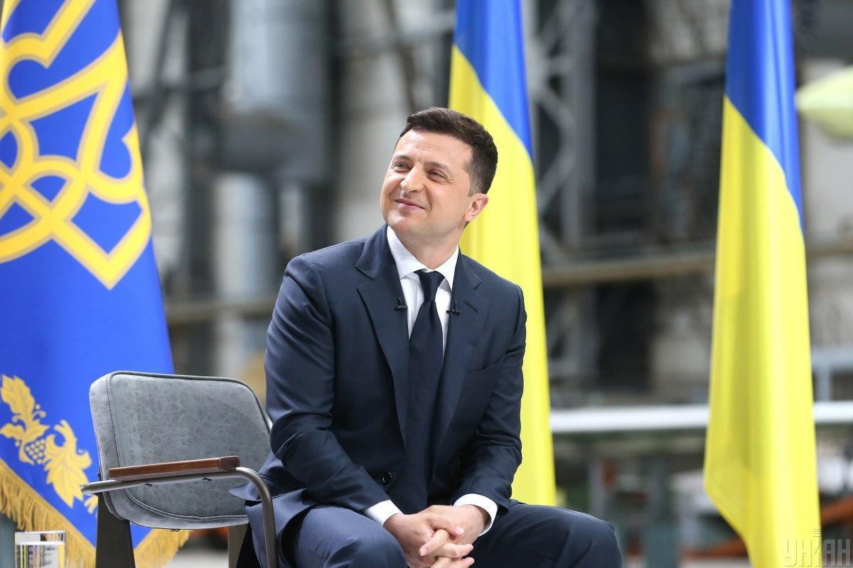 Владимир Зеленский лидирует в рейтинге доверия украинцев/ фото УНИАН (Вячеслав Ратынский)