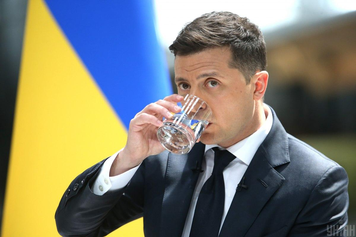 Zelensky comments on the U.S. position on Nord Stream 2 / Photo from UNIAN, by Viacheslav Ratynsky