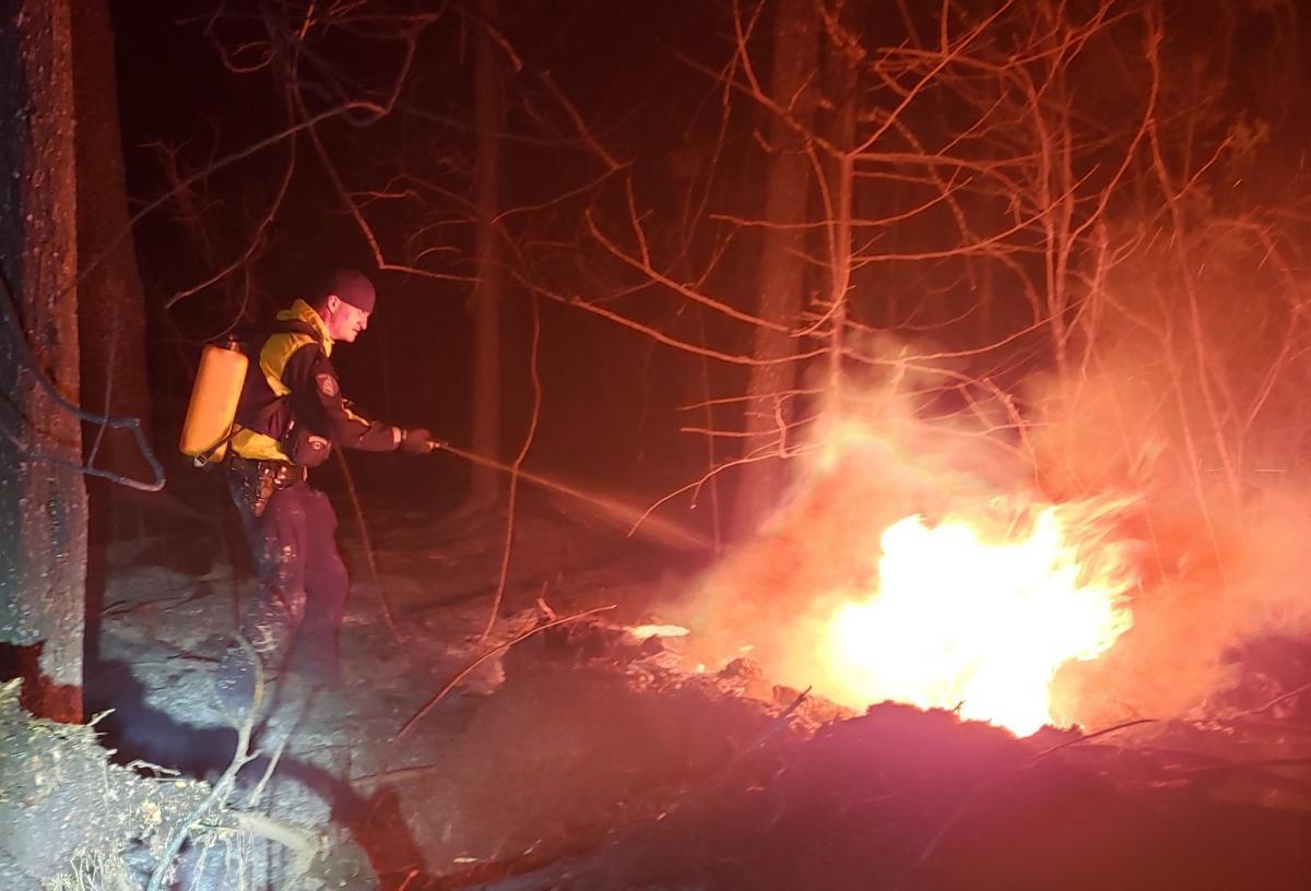 Пожары в Канаде продолжаются / Фото RCMP Manitoba / Twitter
