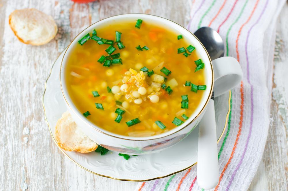 Суп с чечевицей рецепт / фото ua.depositphotos.com