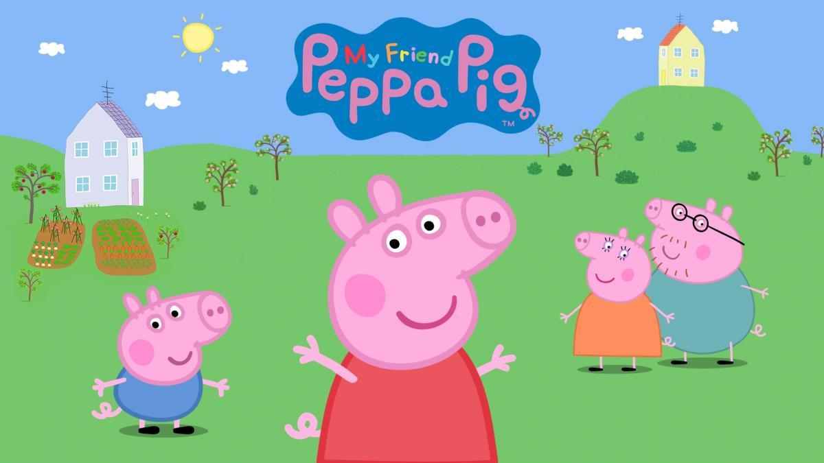 Зіграти в гру про Свинку Пеппу можна буде з 22 жовтня / фото Bandai Namco