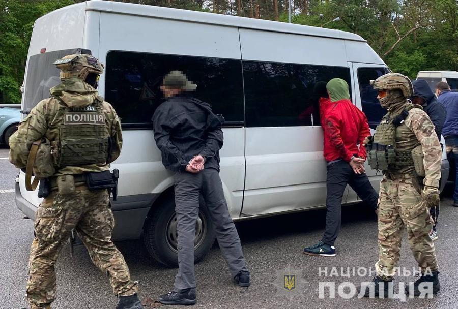 20 мая трое нападающих задержаны на трассе Киев-Житомир вблизи столицы / hk.npu.gov.ua