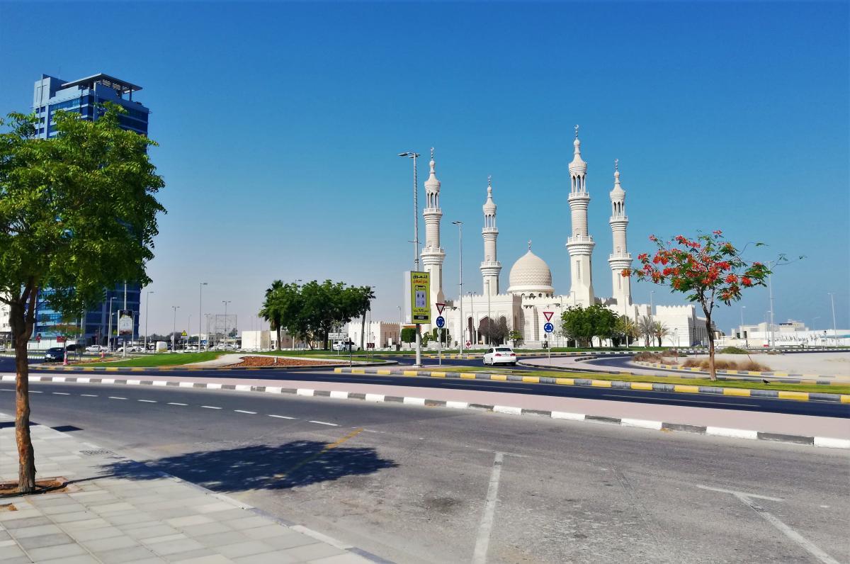 Ідеальні дороги в Рас-ель-Хаймі / фото Марина Григоренко