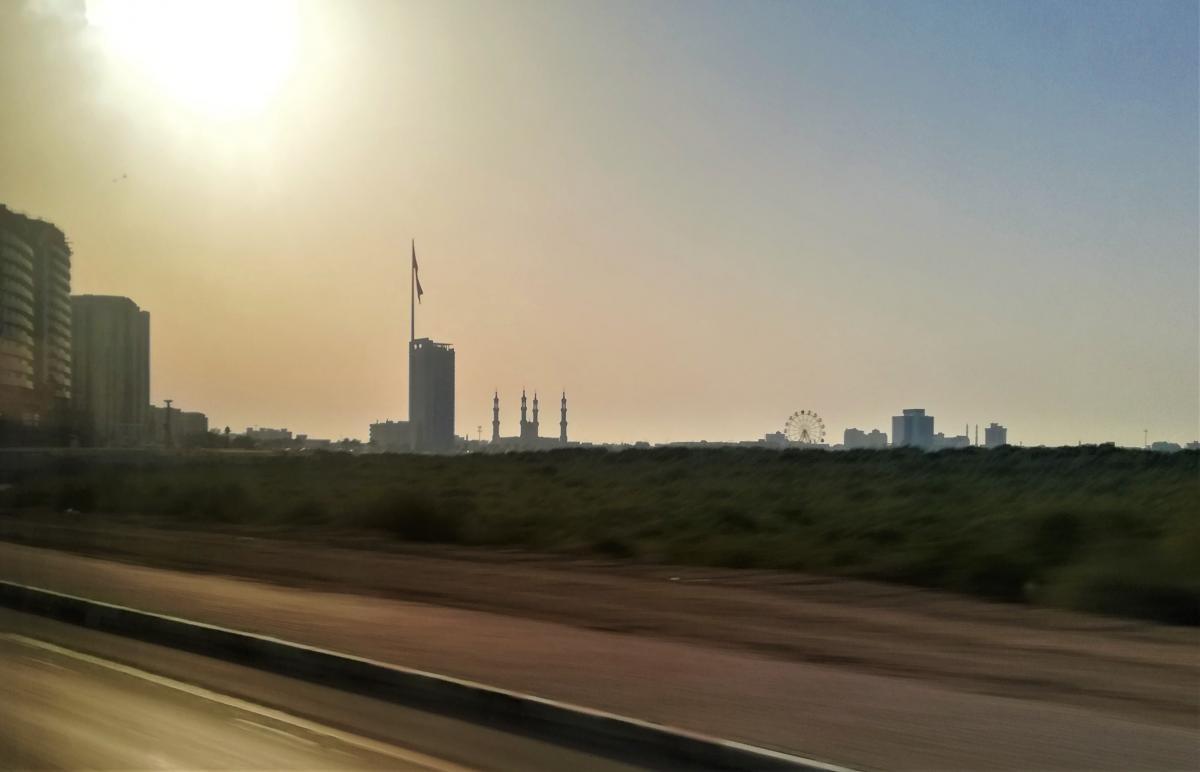 Від Дубая до Рас-ель-Хайми не більше 120 кілометрів / фото Марина Григоренко
