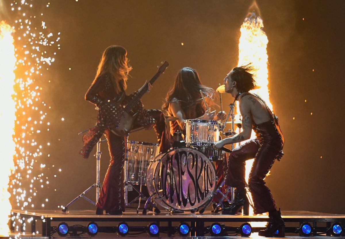 Группа Maneskin стала победителем Евровидения-2021 / Reuters
