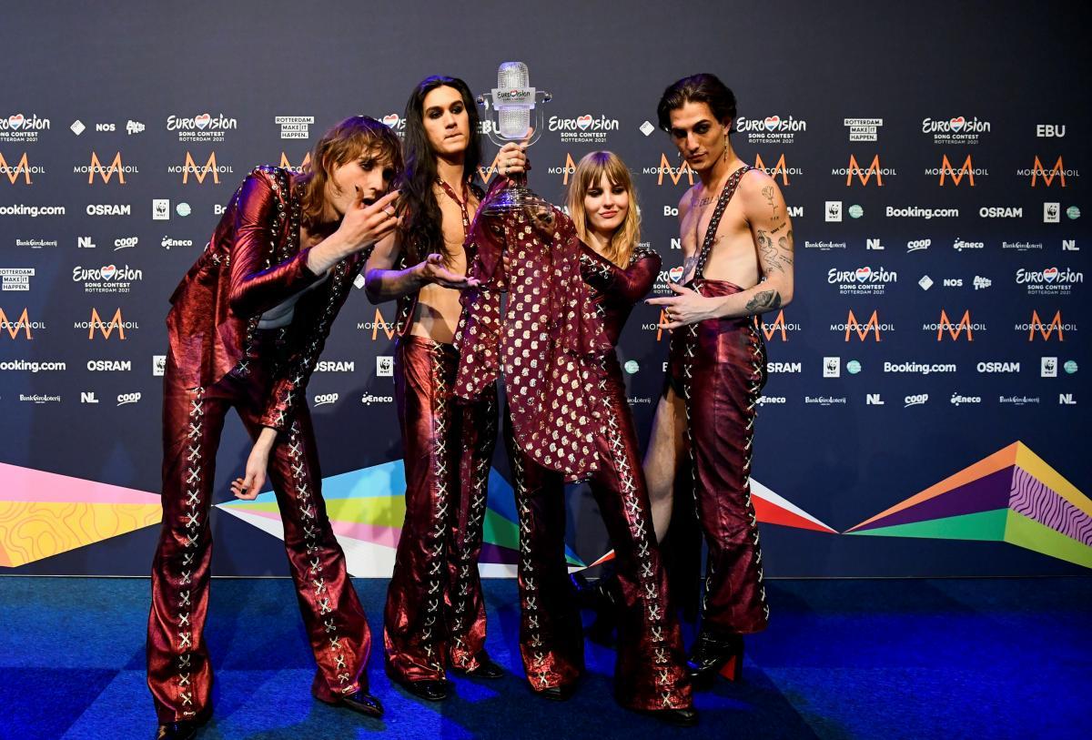 Maneskin победили на Евровидении 2021 / фото REUTERS