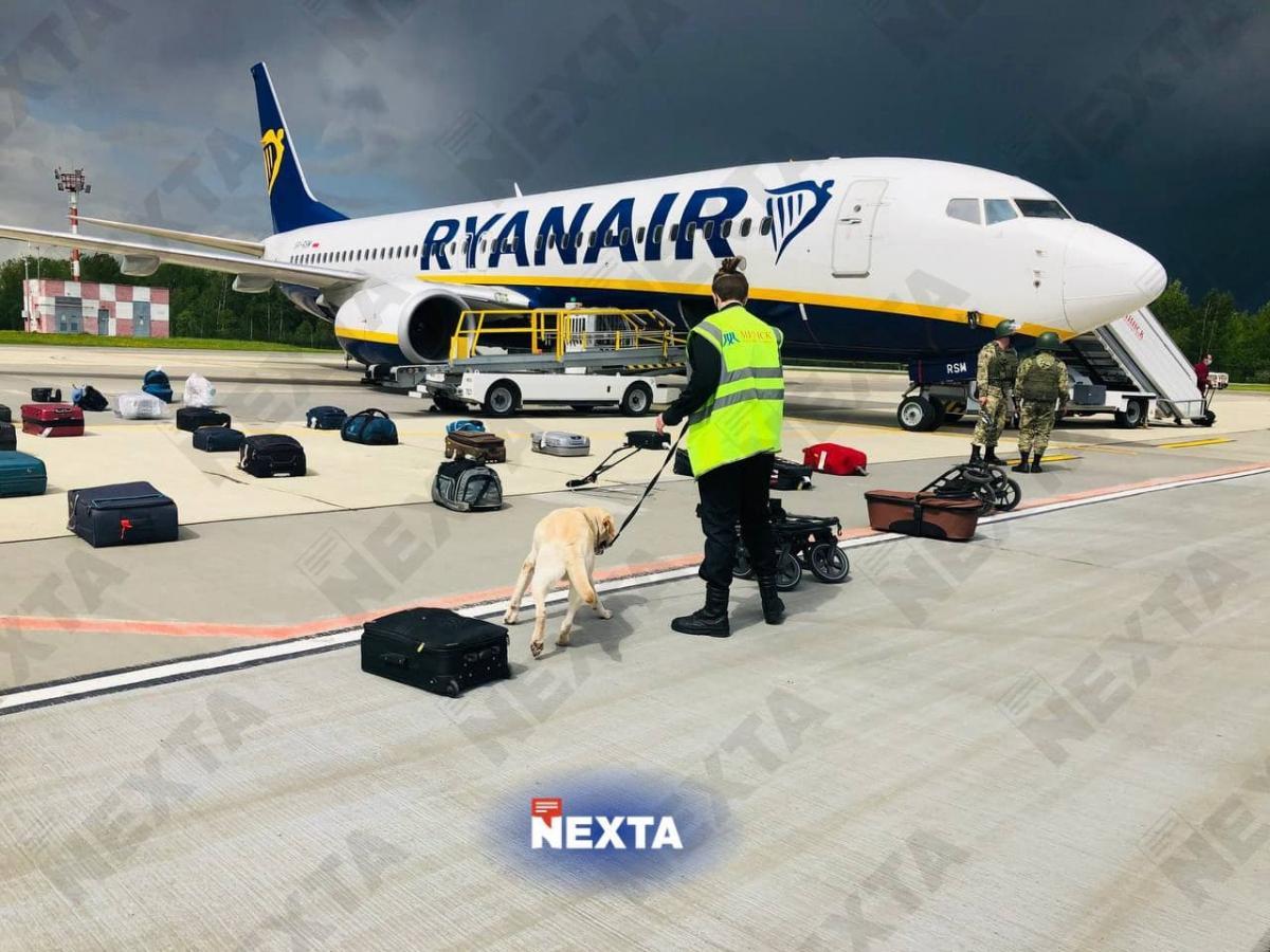 США осудили принудительную посадку самолета и арест оппозиционера \ фото NEXTA
