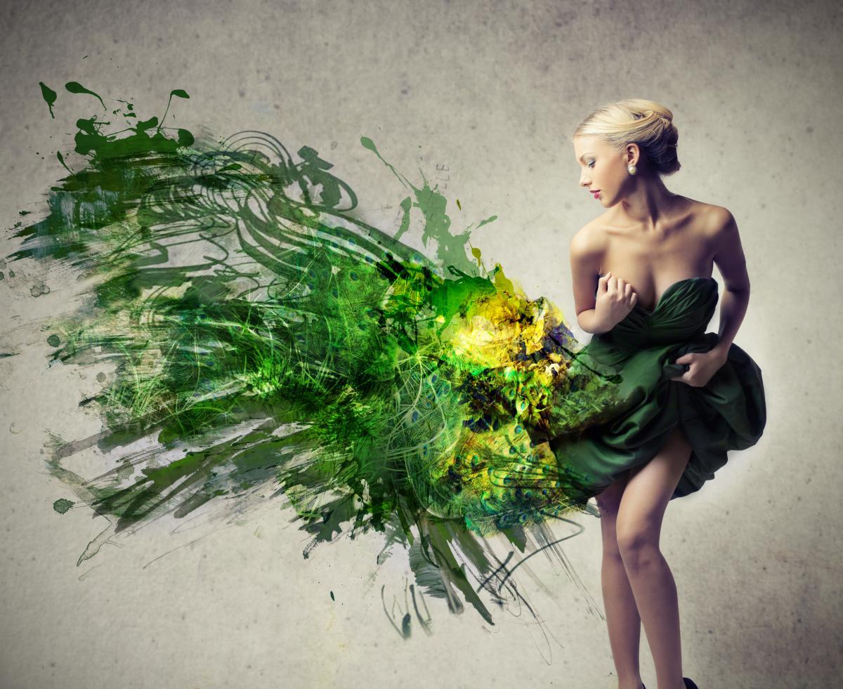 В тренде зеленый цвет / depositphotos.com