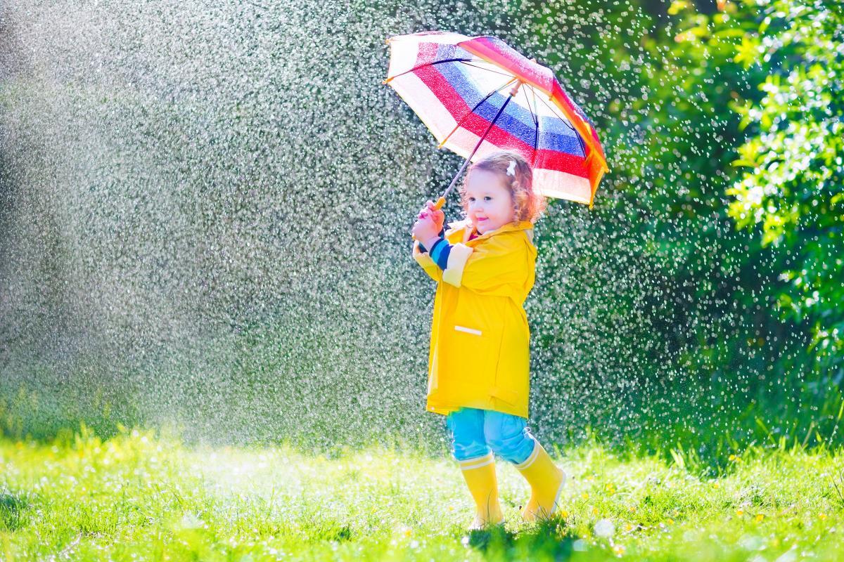 Кілька областей накриють теплі дощі / Фото ua.depositphotos.com