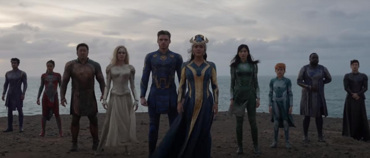 """""""Вечные"""" должны выйти в прокат в ноябре 2021 года / скриншот с YouTube Marvel Entertainment"""