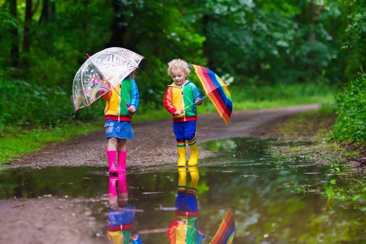На вихідних в Україні буде багато опадів / Фото ua.depositphotos.com