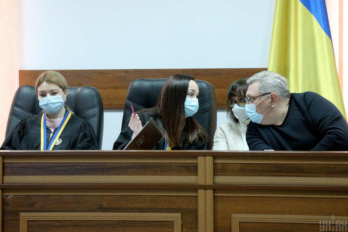 Представитель потерпевших Оксана Мельниксомневается в объективности судей / фото УНИАН, Виктор Ковальчук