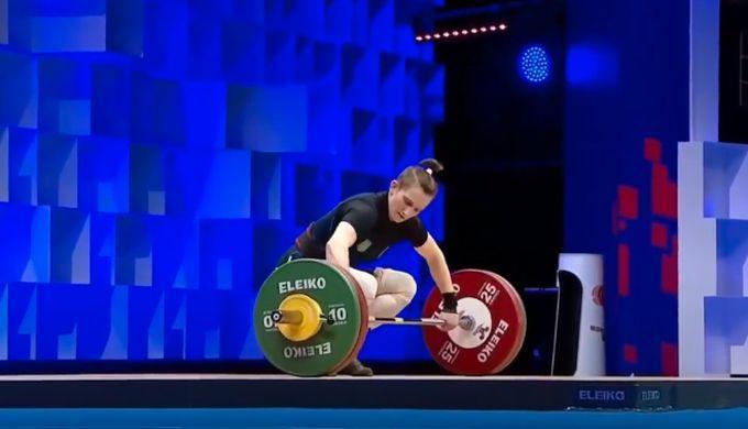 Камила Конотоп - чемпионка мира среди юниорок / скриншот