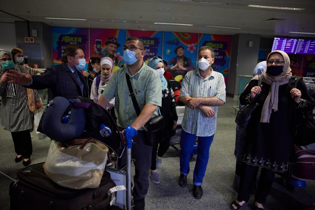 Some 109 Ukrainians repatriated from Gaza Strip / Photo from president.gov.ua