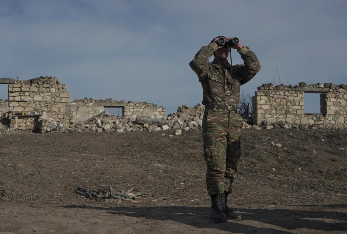Азербайджан задержал армянских военных / фото REUTERS