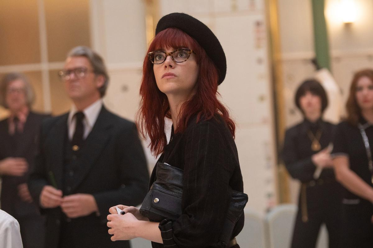 Emma Stone appeared in the film in two characters / frame from the movie