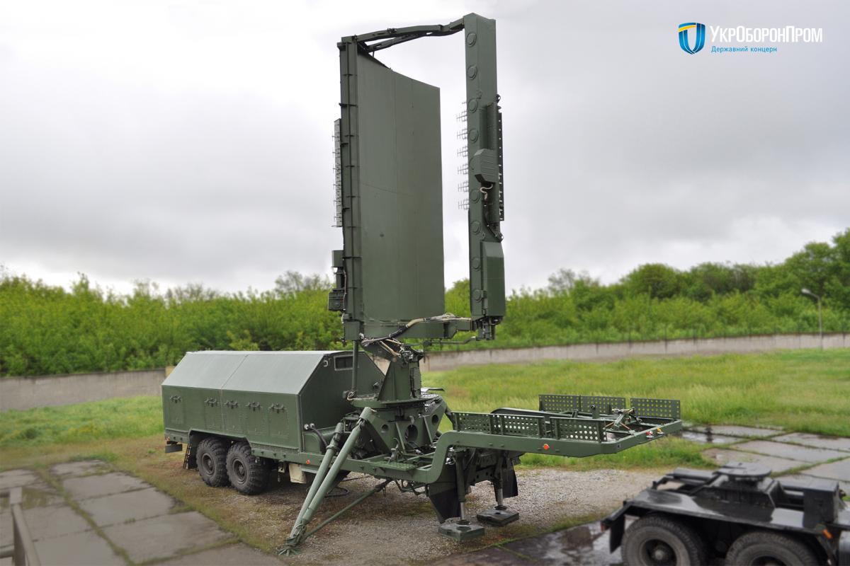 ВСУ получили модернизированную радиолокационную станцию 35Д6М / фото ukroboronprom.com.ua